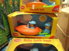 Gowi - Baby Bath Boat Toy - Boxed.