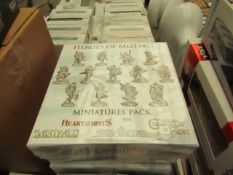 Shadowscape - Heros of Mistfall - Miniatures Pack - Packaged & Boxed.