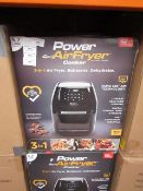 | 4X | POWER AIR FRYER COOKERS 5.7 LITRES | UNCHECKED AND BOXED SOME MAY BE IN NON PICTURE BROWN