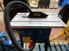 CL TABLE CTS16 230V 9057 This lot is a Machine Mart product which is raw and completely unchecked