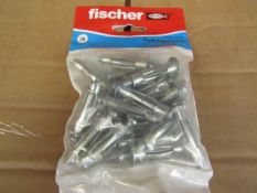5x Fischer - Cavity Fixing 5 x 37 (Packs of 20) - New & Packaged.