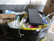 Pallet of Various mixed items some in boxes and some not, in varying conditions