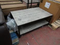 | 1X | LENOX COFFEE TABLE | NO MAJOR DAMAGE JUST A FEW MINOR MARKS COMES WITH BOX WITH BOX | RRP £