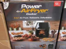 | 10X | POWER AIR FRYER COOKER 5.7LTR | UNCHECKED AND BOXED | NO ONLINE RE-SALE | SKU