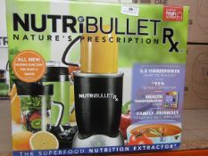 | 3X | NUTRIBULLET RX | UNCHECKED AND BOXED | NO ONLINE RE-SALE | SKU C5060191461238 | RRP £129.99 |