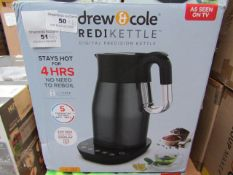 | 6X | DREW AND COLE REDI KETTLE | UNCHECKED AND BOXED | NO ONLINE RESALE | SKU C5060541513587 | RRP