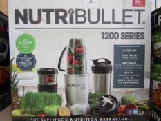 | 2X | NUTRI BULLET 1200 SERIES | UNCHECKED AND BOXED | NO ONLINE RESALE | SKU C5060191464758 |