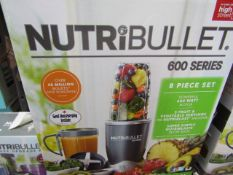 | 6x | NUTRI BULLET 600 SERIES | UNCHECKED AND BOXED | NO ONLINE RE-SALE | SKU C5060191462198 |