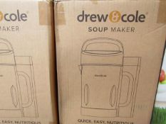 | 9X | DREW AND COLE SOUP CHEF | UNCHECKED AND BOXED | NO ONLINE RESALE | SKU C5060541516809 |