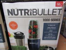 | 4X | NUTRI BULLET 1000 SERIES | UNCHECKED AND BOXED | NO ONLINE RE SALE | SKU C5060191464734 | RRP