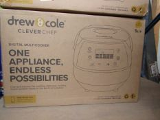 | 6X | DREW AND COLE CLEVER CHEF | UNCHECKED AND BOXED | NO ONLINE RESALE | SKU - | RRP £69.99 |