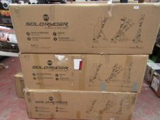 | 3X | SOLORYDER PLANK CLIMB BIKE | UNCHECKED AND BOXED | NO ONLINE RESALE | SKU C506054156939 | RRP
