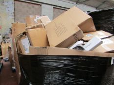 | 1X | PALLET OF APPROX 30 - 35 ITEMS BEING, NUTRIBULLETS, SOUP CHEFS, PRESSURE COOKERS, POWER AIR