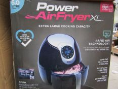 | 6X | POWER AIR FRYER 5.0L | UNCHECKED AND BOXED | NO ONLINE RE-SALE | SKU C5060191466936 | RRP £