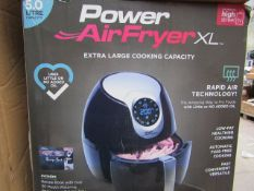 | 7X | POWER AIR FRYER 5.0L | UNCHECKED AND BOXED | NO ONLINE RE-SALE | SKU C5060191466936 | RRP £