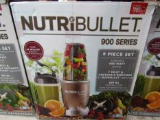 | 9X | NUTRI BULLET 900 SERIES | UNCHECKED AND BOXED | NO ONLINE RE SALE | SKU C5060191467353 |