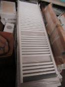 Tissino - Towel Radiator White 1652x500mm - New & Boxed.