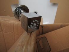 Tissino brass bodyjet square, new and boxed.