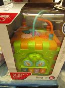 Huanger -Activity Cube - Suitable for 18 Months - Unused & Boxed.