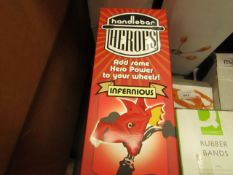 5 x Handlebar Heroes Infernious. These Attach to your bike handlebars. New & Boxed