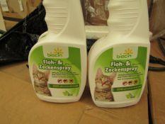 Box of 12 x 350ml Flea Spray. Unsued & Boxed