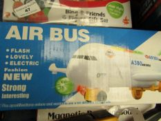 Air Bus - Airlines Flash Electric A380 - Unused & Boxed.