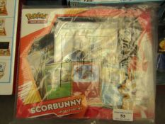 PokeMon - Scorbunny - Galar Collection - Packaged & Boxed.