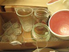 15x Various Glasses - Shot Glasses, Mugs Etc - Unused & Boxed.
