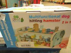 Multi-Functional Dog Hitting Hamster 2 in 1 - Unused & Boxed.