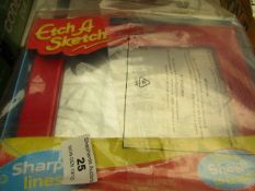 Etch Sketch - Drawing Screen - Unchecked & Packaged.