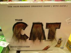 The Cat Game - Hair Raising Drawing Game (With Cats) - Unchecked & Boxed.