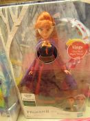Disney Frozen 2 - Singing Anna Toy Figure - Tested Working & Packaged.