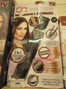 Zabelle Go Straightener. Cordless. Boxed but untested