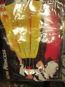 Now Princess - Wicked Costumes - Dress & Headpiece - Size Medium - Unchecked & Packaged.