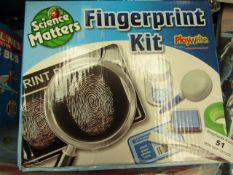 Science Matters - Fingerprint Kit - Unused & Boxed.