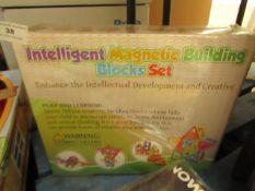 Intelligent Magnetic Building Block Set - Unused & Packaged.