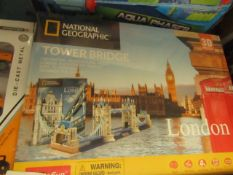 National Geographic - Tower Bridge London - Unused & Boxed.