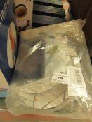Kompanion - Black & Gold Celebration Set - Cups, Plates, Napkins, Cutlery Etc - Unused & Packaged.