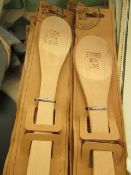 9x Wooden Spoons - All Unused New.