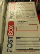 40x Mailing Box CD Sign - Unsed & Packaged.