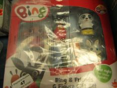 Acamar Films - Bing & Friends 6 Figure Gift Set - Unused & Packaged.