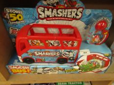 Smashers Smash bus. New & packaged