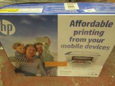 HP - DeskJet 2630 White Printer - Untested & Boxed.