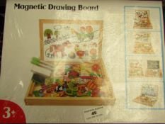 Magnetic Drawing Board - Unused & Boxed.