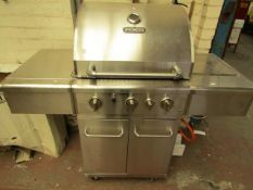 NXR - Gas BBQ - Unused Condition, Needs a Valet - Untested.