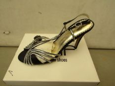 Unze by Shalamar Size 8 Ladies Shoes. New & boxed see image for design