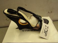 Shalamar Zaif Size 7 Ladies Shoes. New & Boxed. See Image for Design