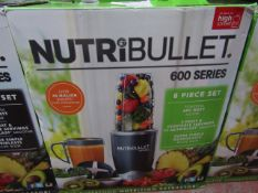 | 4x | NUTRI BULLET 600 SERIES | UNCHECKED AND BOXED | NO ONLINE RE-SALE | SKU C5060191462198 |