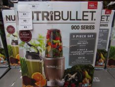 | 6X | NUTRI BULLET 900 SERIES | UNCHECKED AND BOXED | NO ONLINE RE SALE | SKU C5060191467353 |