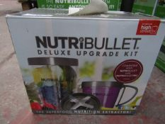| 1X | NUTRIBULLET DELUXE UPGRADE KIT | UNCHECKED AND BOXED | NO ONLINE RESALE | SKU - | RRP £24.